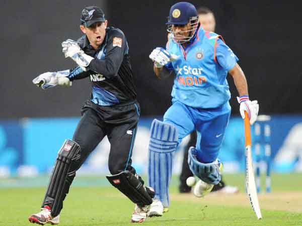 th Odi New Zealand V India At Wellington
