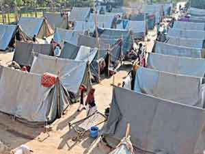 Victims Relief Camps Are Beggars Says Sp Leader
