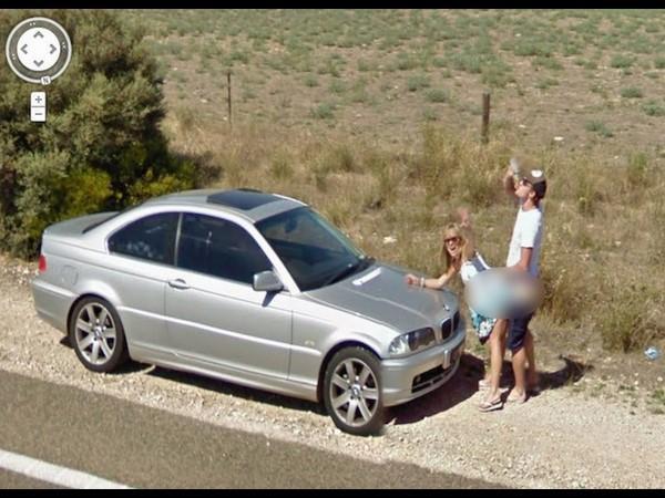 Embarrassing Google Street View Sightings