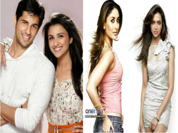 Sidharth Malhotra Wants Deepika Padukone Romance Kareena Kapoor
