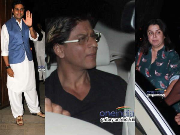 Abhishek Bachchan 38th Birthday Bash