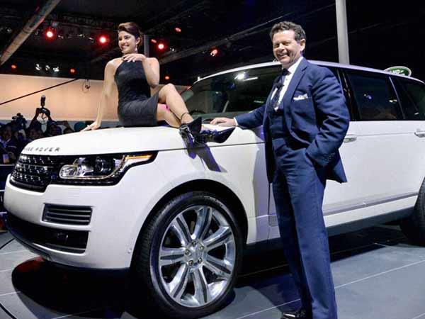 Priyanka Chopra At Auto Expo