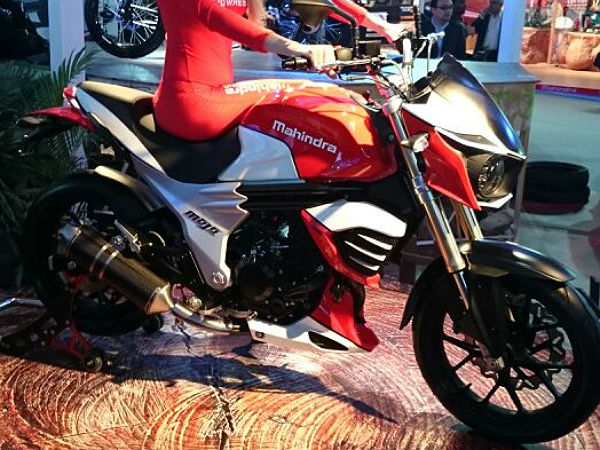 Mahindra Mojo 300cc Sports Motorcycle Revealed