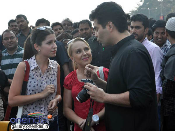 Karan Johar Turns Photographer Mission Sapne