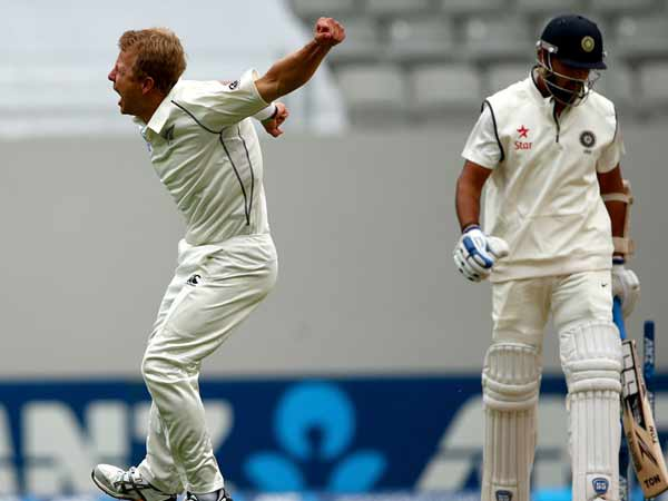 st Test 2nd Day New Zealand V India At Auckland