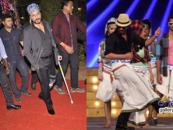 Bollywood Roundup Farah Crafts One Legged Moves Shahrukh Khan
