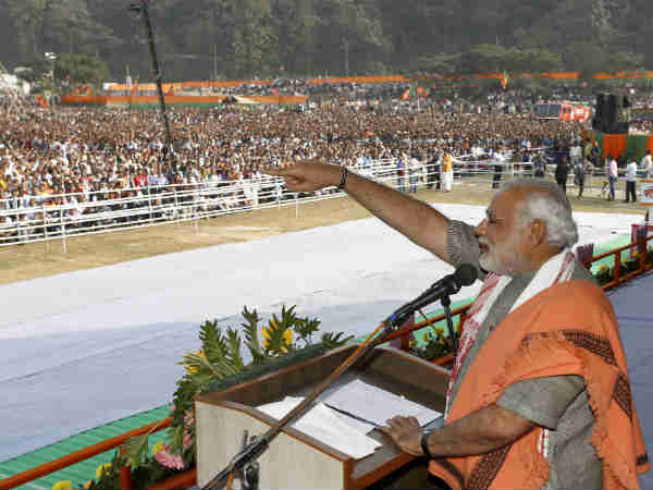 Modi Targets Attacks Pm Asks What Has He Done For Assam
