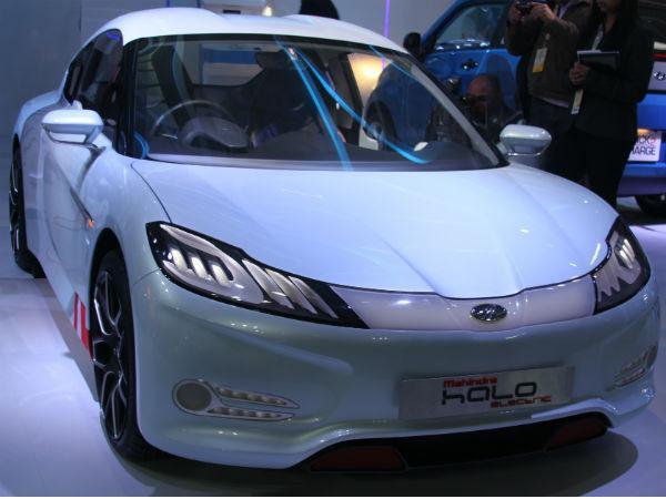 Mahindra Reva Halo Electric Sports Car Revealed At Auto Expo