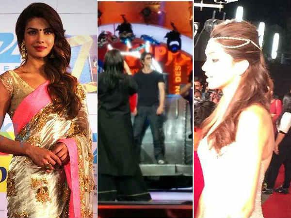 Celbs At Zee Cine Awards