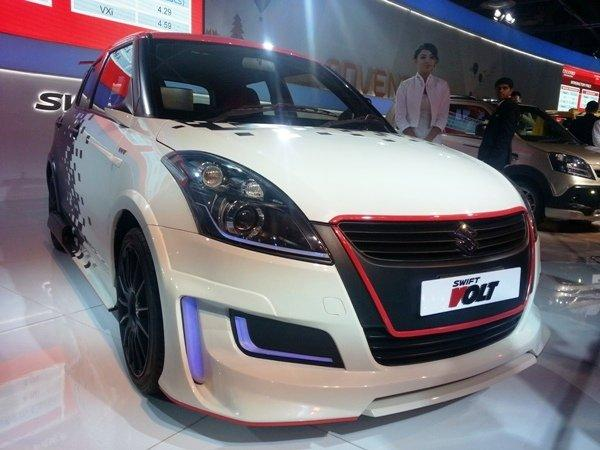 Maruti Swift Volt At Auto Expo