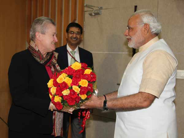 Nancy Powell Arrived At Ahmedabad Will Meet Narendra Modi Today
