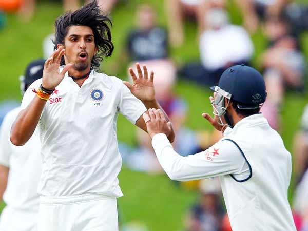 nd Test New Zealand V India At Wellington
