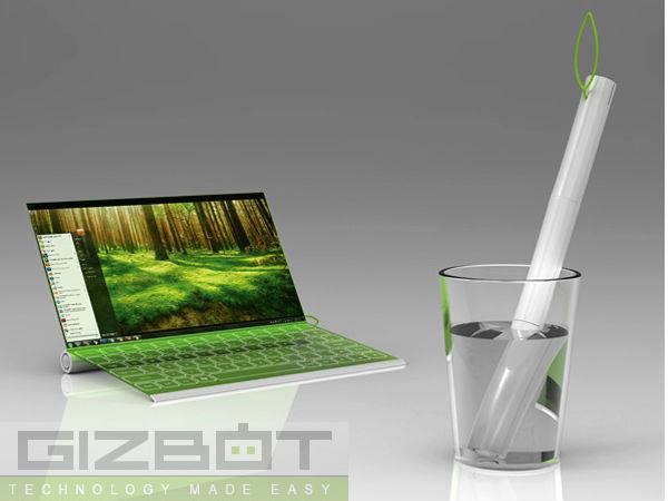 The Plantbook Laptop Concept News