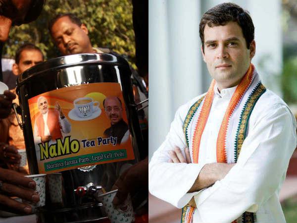 Narendra Modis Tea Vs Rahul Gandhis Milk In Gorakhpur