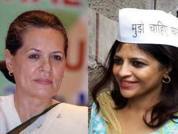 Will Aap S Shazia Ilmi Challenge Upa Chief Sonia Gandhi In Ls Polls