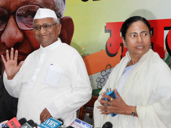 Anna Hazare Praises Mamata Banerjee In His Press Conference