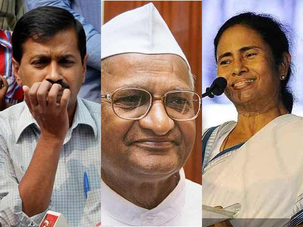 Social Worker Anna Hazare Has Been Entered Politics 016329 Lse