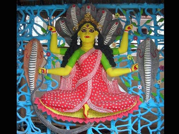 Story Of Manasa Devi Snake Goddess