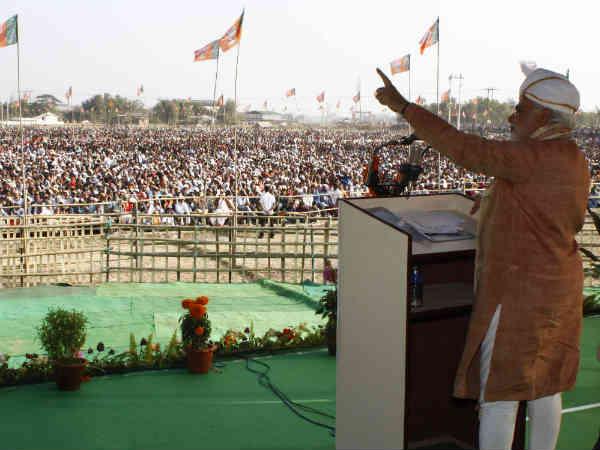 Narendra Modi To Address Poll Rally In Silchar