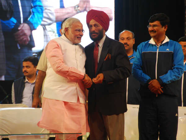 Noted Athlete Milkha Singh Joins Flagging Off Ceremony Surat Marathon