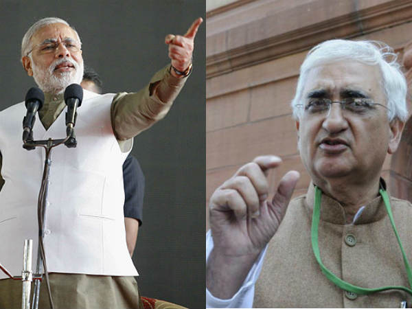 Upa Minister Salman Khurshid Calls Narendra Modi Impotent