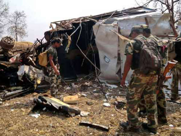 Six Policemen Killed In Naxal Ambush In Chhattisgarh S Dantewada