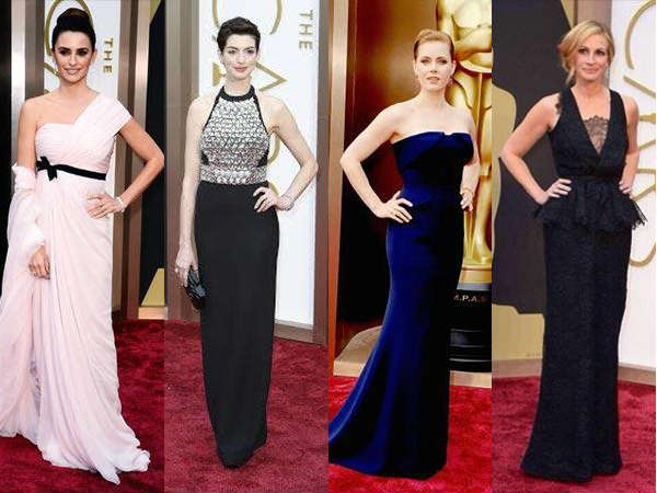 Oscars 2014 Red Carpet Best Dressed Pics