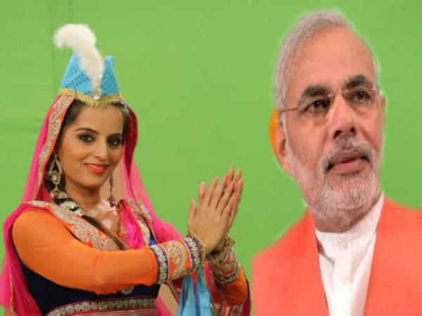 Sensational Meghna Patel Video Woos Muslims Support Narendra Modi