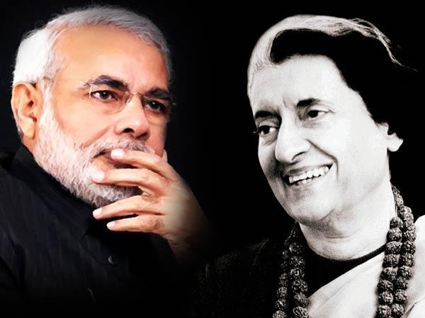 Similarities Between Narendra Modi And Indira Gandhi
