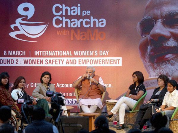 Election 2014 Ec Bans Free Tea At Narendra Modi S Chai Pe Charcha 016560 Lse