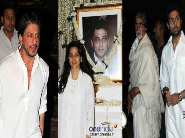 Bollywood At Juhi Chawla S Brother Bobby Chawla S Prayer Meet