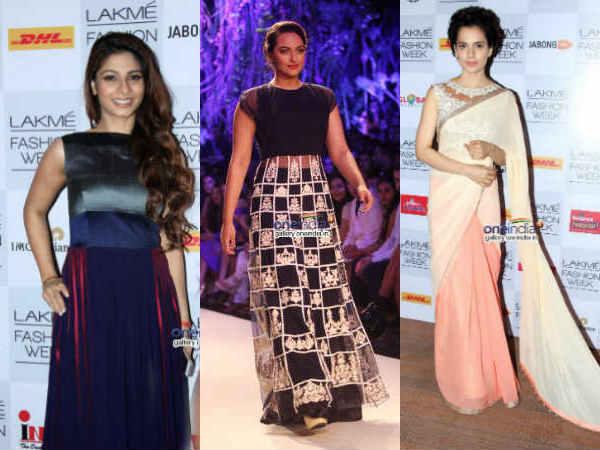 Celebs At Lakme Fashion Week Summer Resort