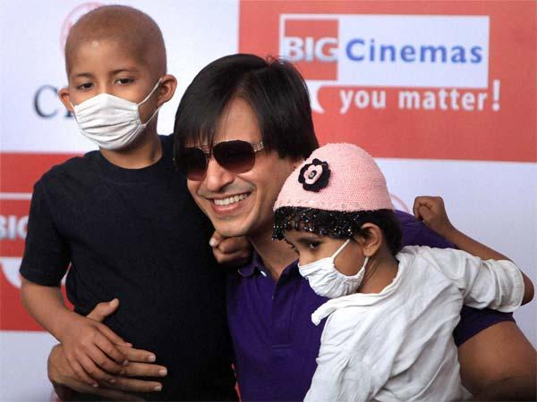 Joy Helping Poor Bigger Than Any Award Vivek Oberoi