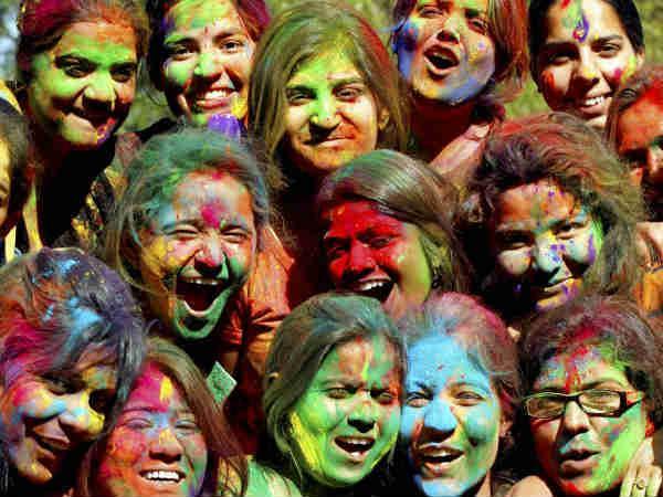 Pics Holi Celebrations Starts India