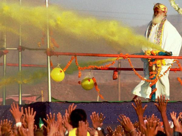 Asaram Remembering His Colorful Holi Days Jail