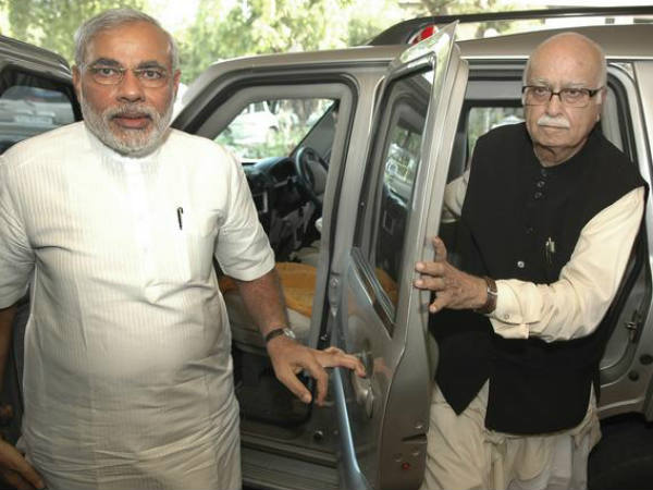 Lk Advani Pay Fine As No Position In Cabinet For Not Supporting Modi