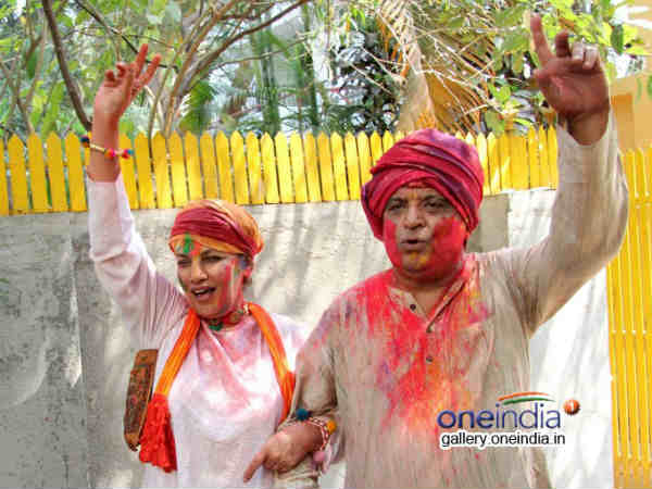 Shabana Azmi Javed Akhtar S Holi Celebration