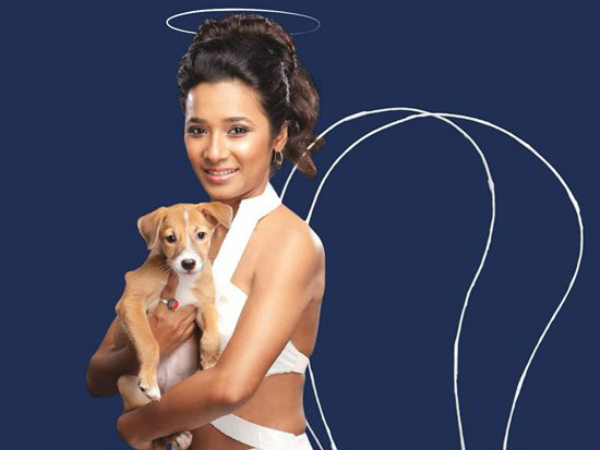 Tannishtha Turns Angel Urge Animal Adoption