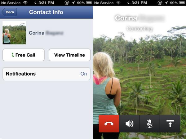 Facebook Starts Free Calls India