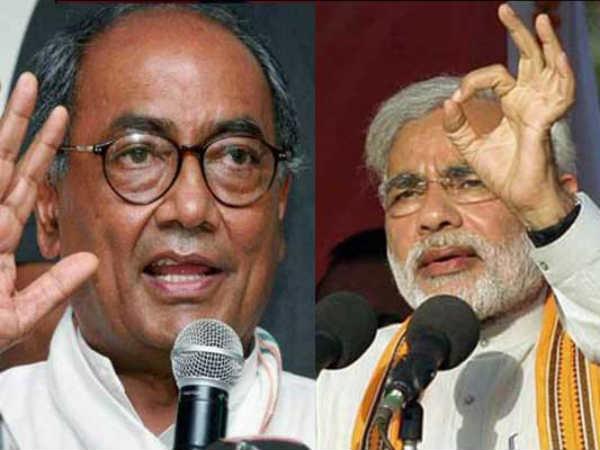 Digvijay Singh May Take On Narendra Modi In Varanasi Reports Lse