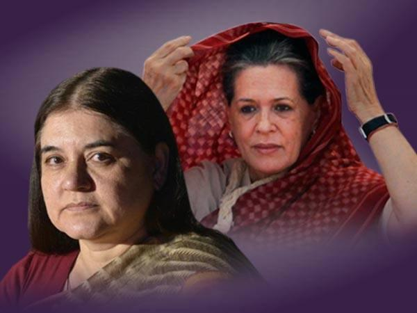 Maneka Gandhi Attacks Sonia Gandhi Asked How She Became So Rich Lse