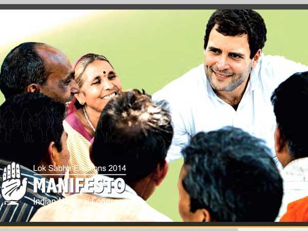 Highlights Congress Manifesto Lok Sabha Election 2014 Lse
