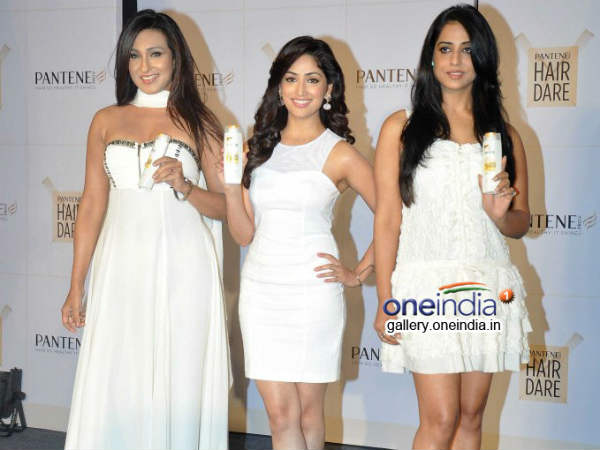 Rituparna Yami Mahi At Launch New Improved Pantene