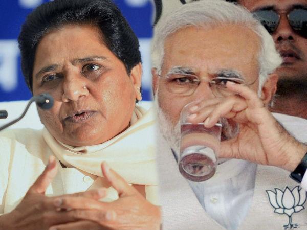Mayawati Sat On Narendra Modis Lap Thrice Sp Leader Nahid Hasan Lse