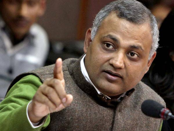 Nhrc Tells Police Take Action Against Somnath Bharti