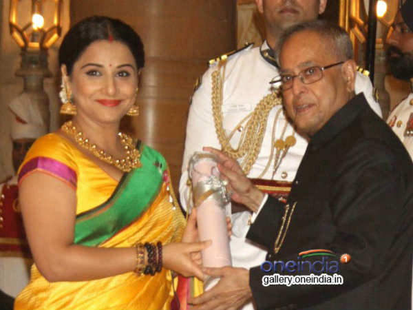 Vidya Kamal Receives Padma Shree From The President