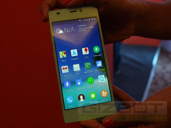 Gionee Elife S5 5 World S Thinnest Octa Core Phone Now Launch