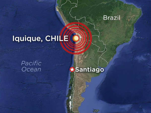 Chile 8 2 Magnitude Earthquake Sparks Tsunami