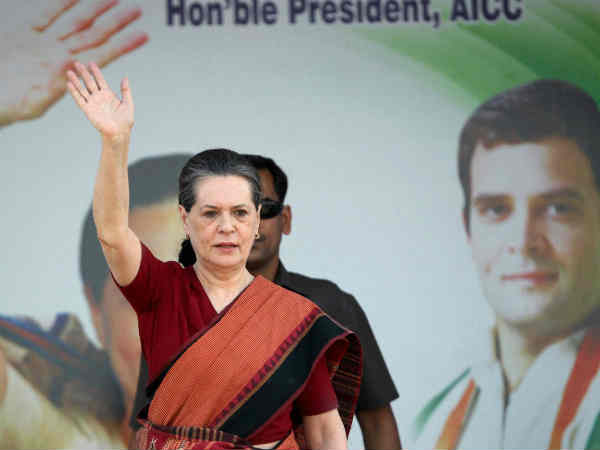 Congress President Sonia Gandhi Files Nomination At Rae Bareli Lse