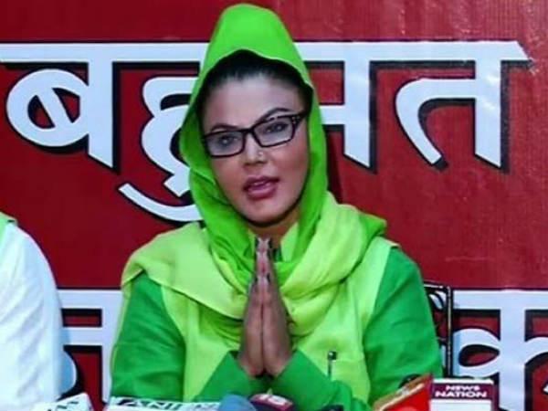Rakhi Sawant Files Case Againstaap Candidate Lse
